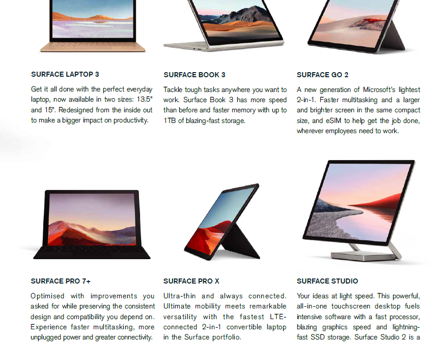 Mawson Tech are now Microsoft Surface Resellers!